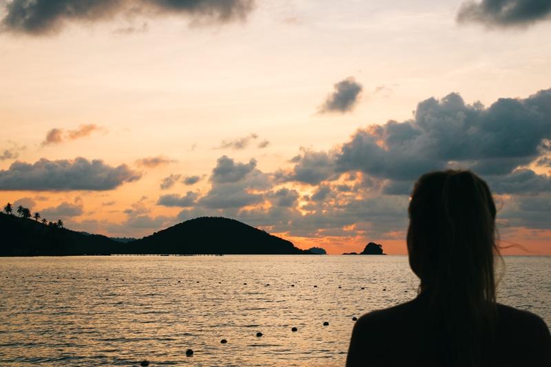 Sonnenuntergänge auf Koh Mak - noch schöner mit Cocktail
