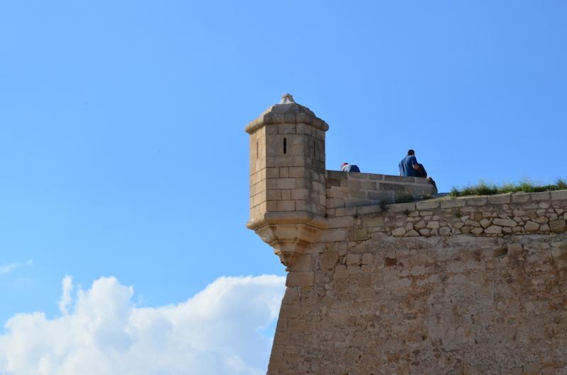 Tipp für Alicante an der Costa Blanca: Hoch hinaus auf die Burg Santa Barbara