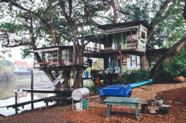 Eine meiner liebsten Thailand-Unterkünfte: Das Baumhaus in Ayutthaya