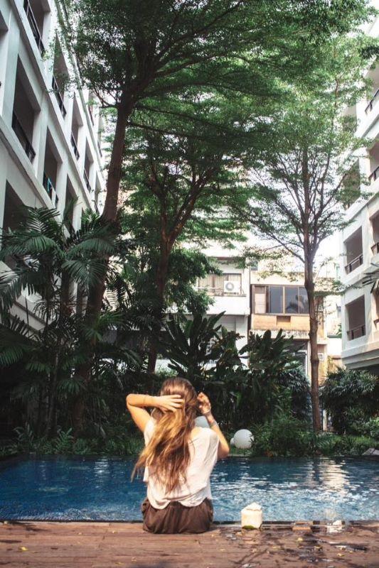 Wieder in Bangkok, wieder im Lieblingshotel in Thailands Hauptstadt
