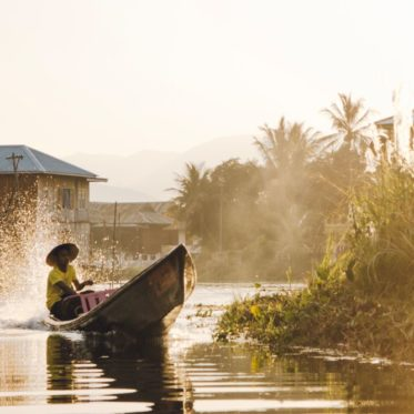 Myanmar Backpacking Route - alle Highlights und Insidertipps wie hier am Inle-See