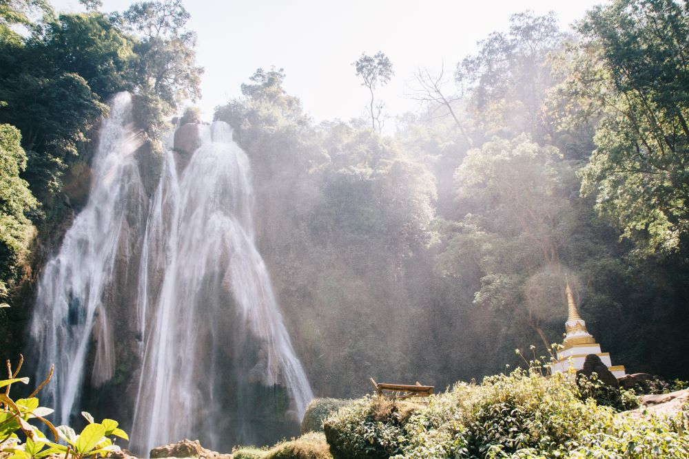 Dat Taw Giant Waterfall bei Pyin u Lwin - Highlight Myanmar Backpacking Route