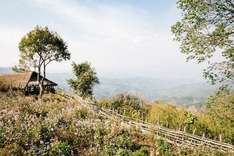 Trekkingtour bei Kyaukme - Geheimtipp für eine Myanmar Backpacking Route