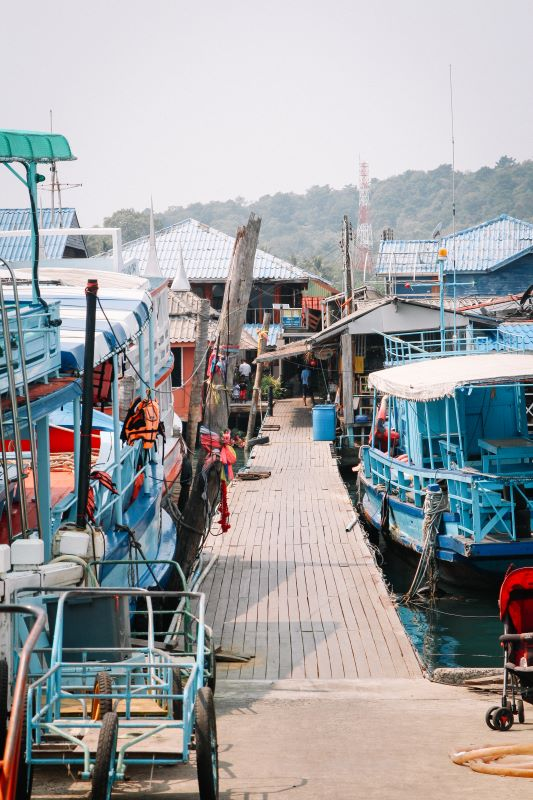 Bang Bao Pier im Südwesten von Koh Chang