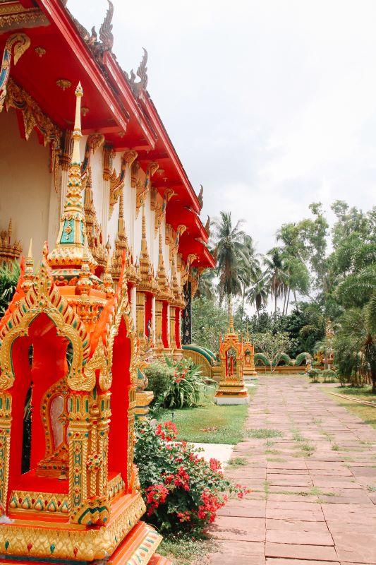 Koh Chang Erfahrungen von der Ostküste - Empfehlung Tempel anschauen