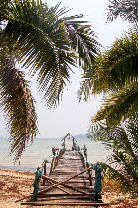 Einsame Strände an der Ostküste von Koh Chang