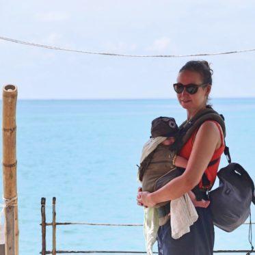 Packliste für eine Fernreise mit Baby für entspanntes Backpacking