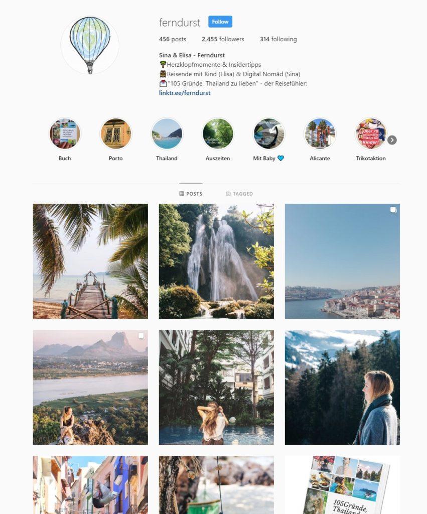 Instagram Ferndurst