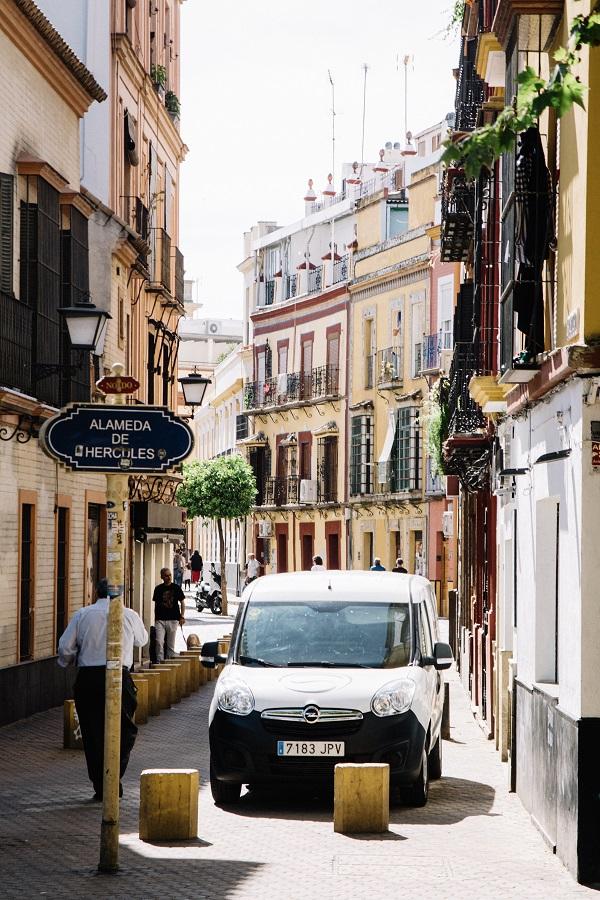 Sevilla Geheimtipps - wo wohnen? Authentisches Viertel beim Almeda de Hercules