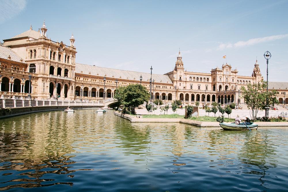 Sevilla Reisebericht vom Spaziergang zur Plaza de Espana