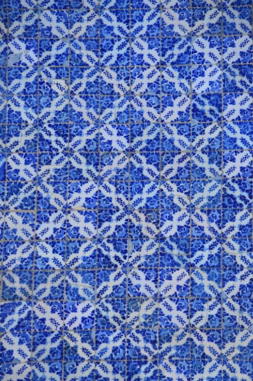 Blaue Azulejos