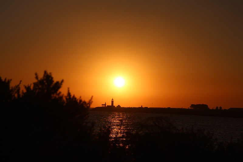 Sonnenuntergang am Hafen in Fremantle Tipp Westküste Australien Highlight