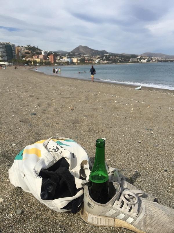 Malaga Strand Andalusien auf eigene Faust