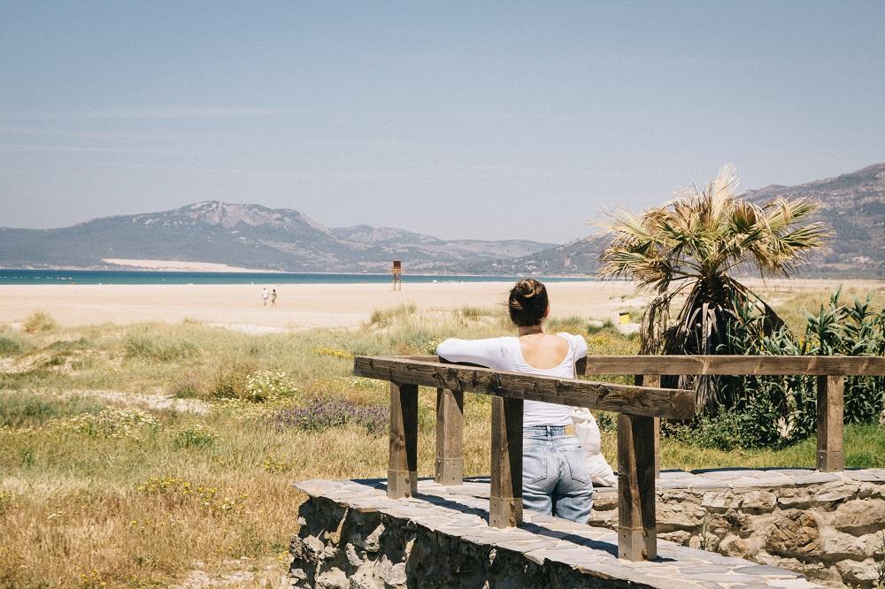 Tarifa was machen - Spaziergang am Strand in Andalusien Costa de la Luz