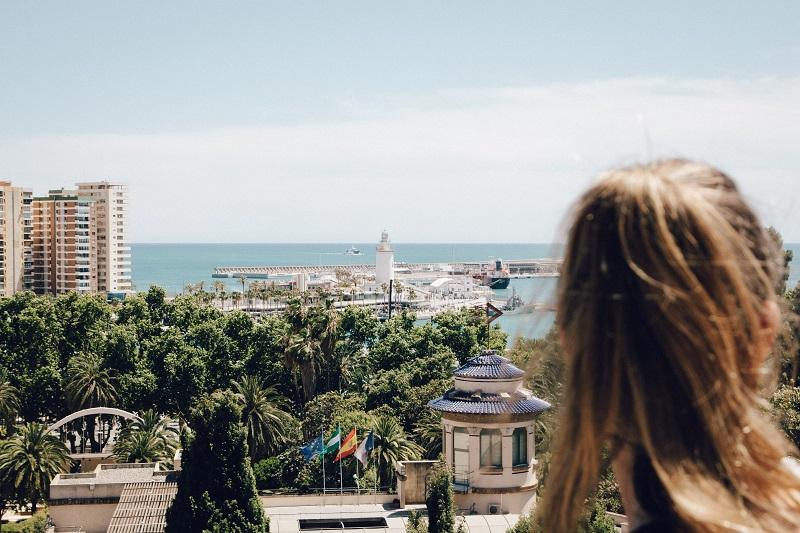 Wunderschönes Meer in Malaga - Andalusien auf eigene Faust