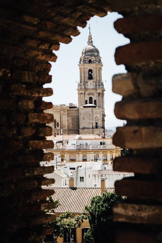 Andalusien auf eigene Faust: Malaga was machen Sightseeing Burg