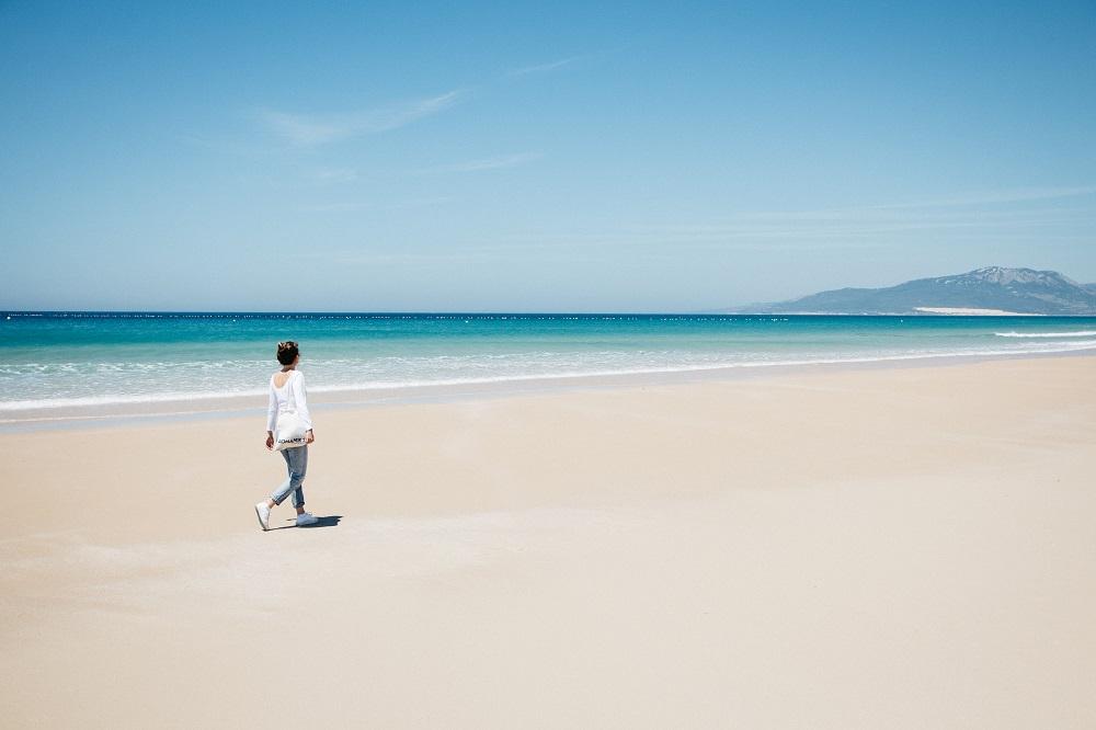 Schönster Strand in Tarifa - Costa de la luz Andalusien auf eigene Faust