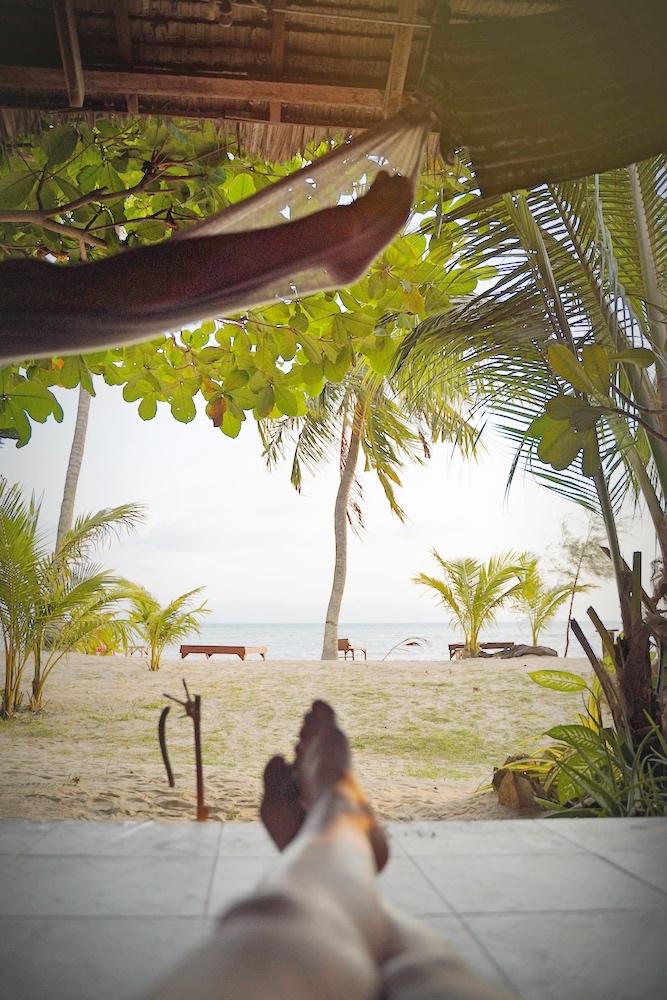 Bester Ort: Im Bungalow am Strand auf Koh Phangan chillig abhängen