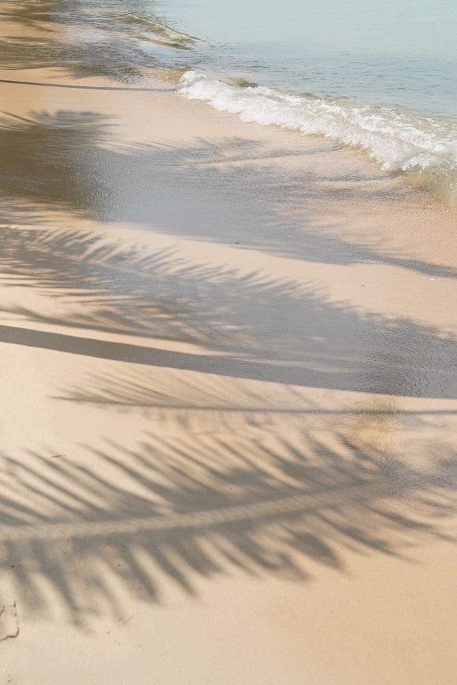 Licht und Schattenspiel am Strand