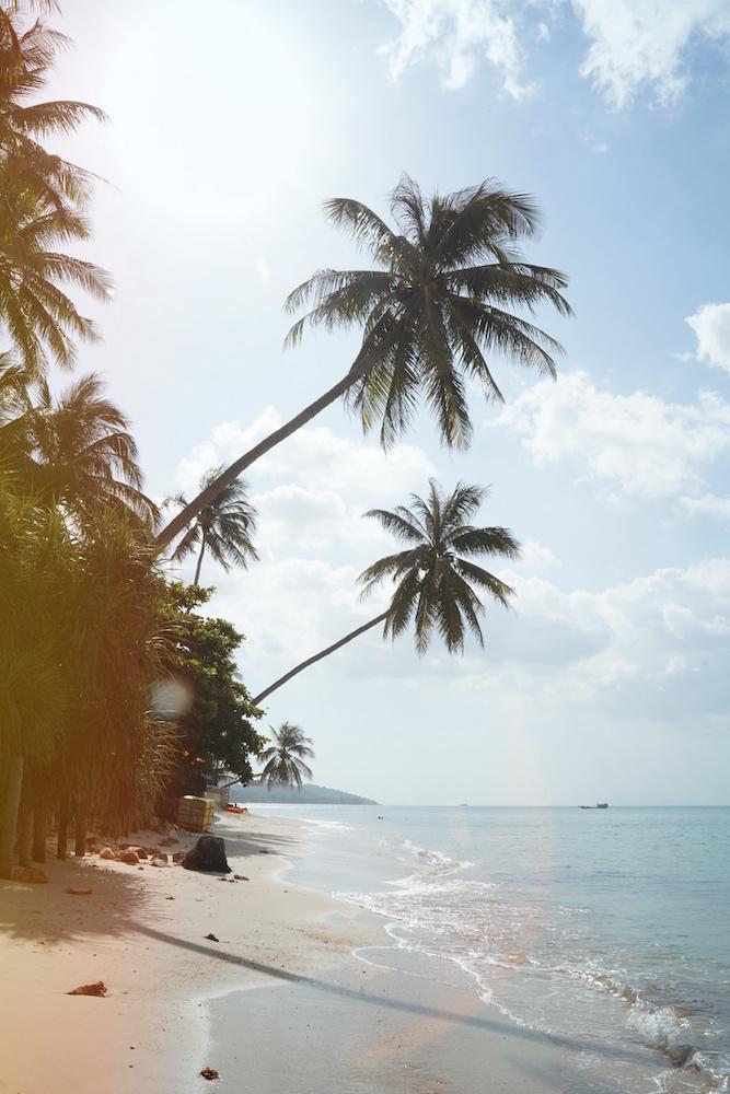 Schönster Strand auf Koh Samui war im Norden: Ban Tai Beach